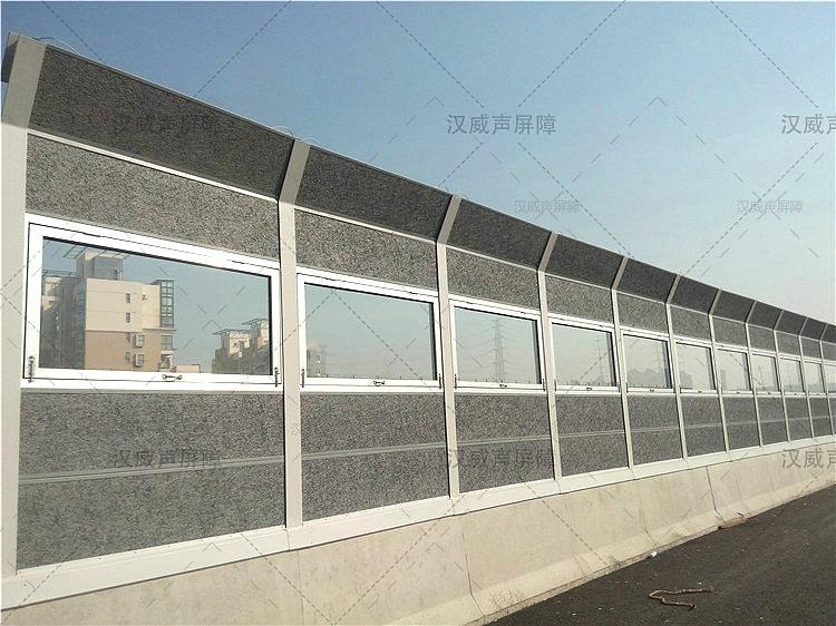 80mm厚铝合金窗框声屏障