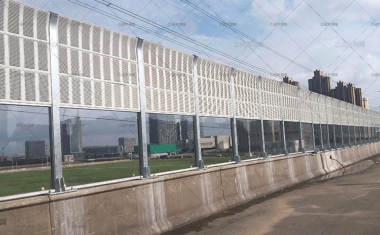 天津滨海新区大桥声屏障
