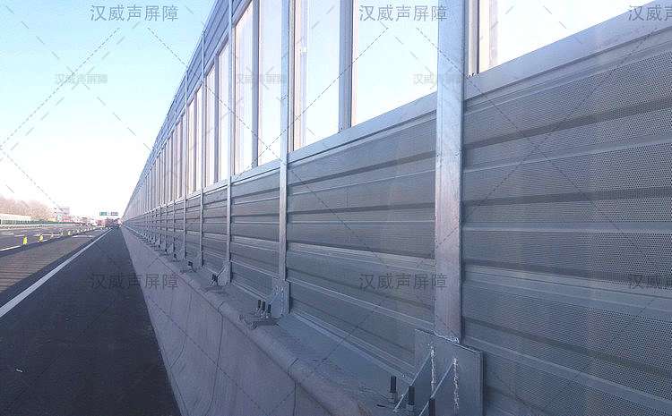 立柱性噪音防护屏